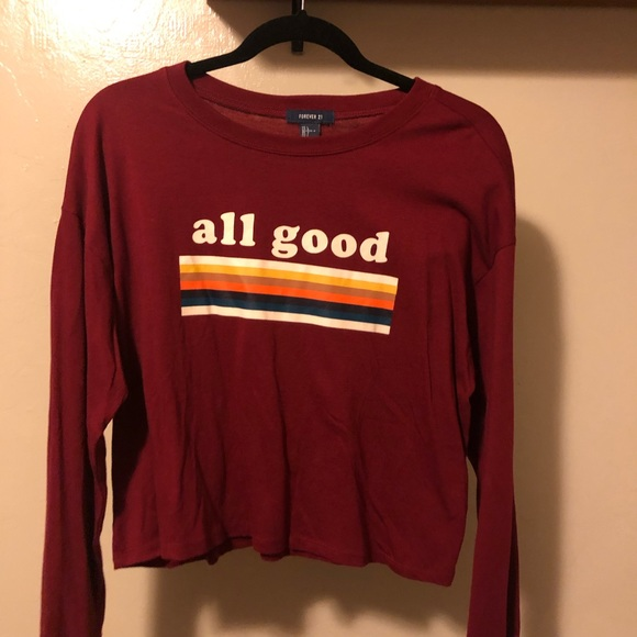 Forever 21 Tops - long sleeve top